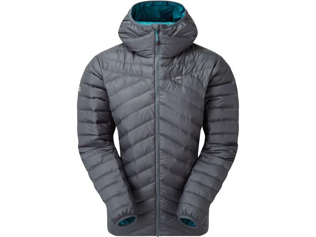 Mountain Equipment Earthrise Hooded Jacket Women moorland slate